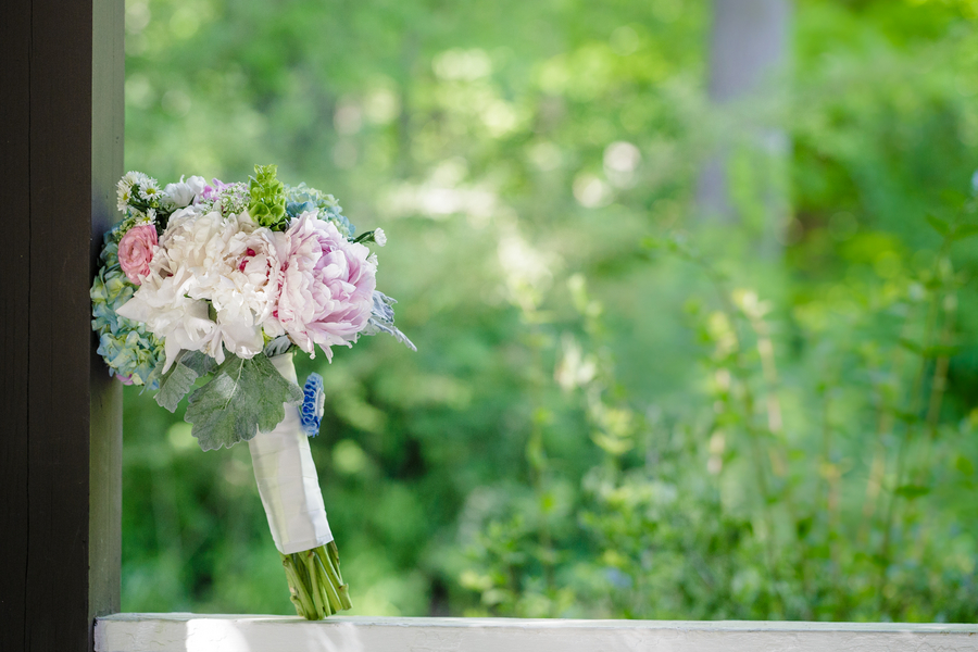 woodlands wedding bouquet